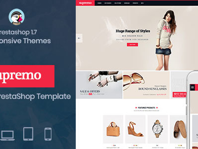 Spremo Fashion - Fashion Responsive Prestashop 1.7 theme (Fashion)