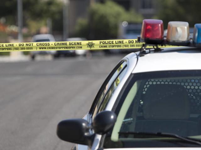 Motorcyclist seriously injured in crash in southwest Las Vegas