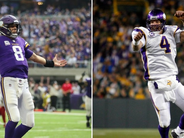 Kirk Cousins talks to Brett Favre about winning, fun and his long-term Vikings future