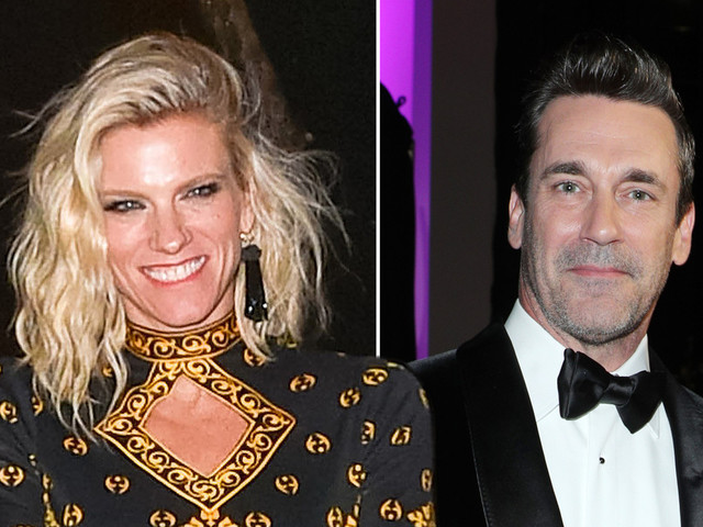 Jon Hamm and Lindsay Shookus both attend Emmys 2019 after Broadway date