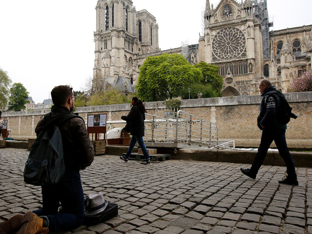 Notre Dame Fire: Paris cathedral suffers catastrophic fire, spire collapse but structure saved