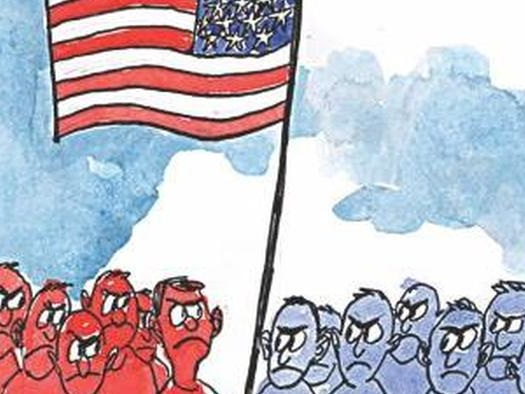 The United States Of 2 Americas