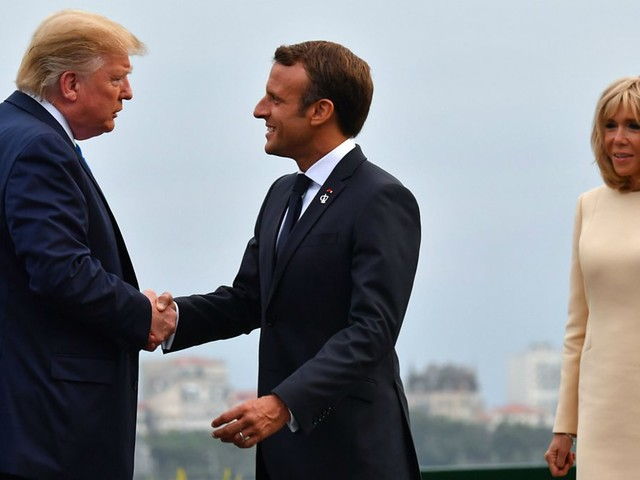 French President to warn G7 over trade tensions