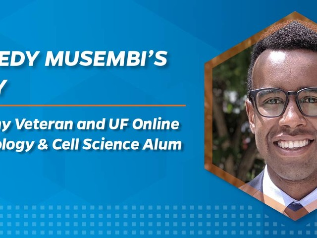 Army Veteran Earns His B.S. in Microbiology & Cell Science via UF Online