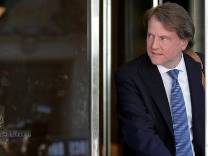 Apple told former White House counsel Don McGahn that his and his wife's records were subpoenaed by Trump DOJ in 2018: NYT