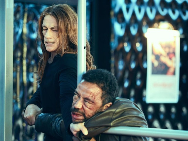Jean-Claude Van Damme dons many amusing wigs in the otherwise forgettable The Last Mercenary