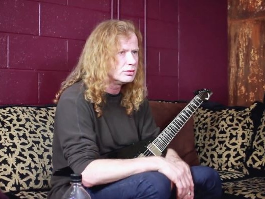 MEGADETH's DAVE MUSTAINE Says There Was 'A Weirdness' Between Him And MARTY FRIEDMAN