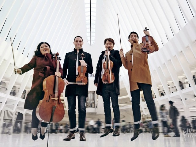 Calidore String Quartet keeps audience on the edge of their seats for new Caroline Shaw piece