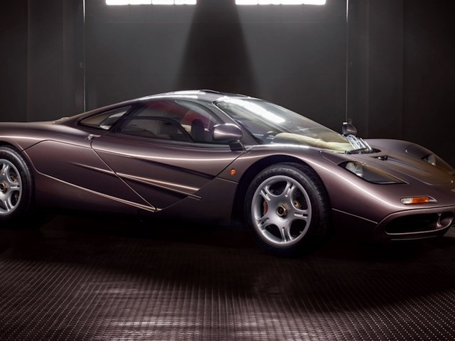 1995 McLaren F1 with only 242 miles going to auction