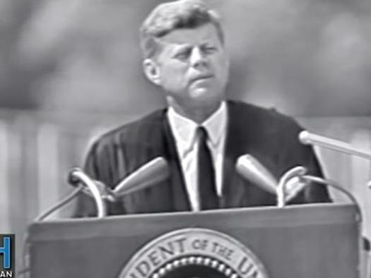 JFK - Accept Our Diverse World As It Is