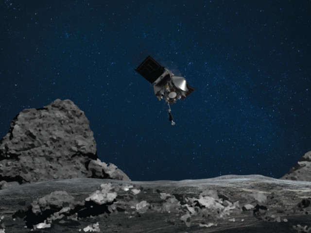 NASA will (hopefully) snag samples from an asteroid for the first time ever on Oct. 20