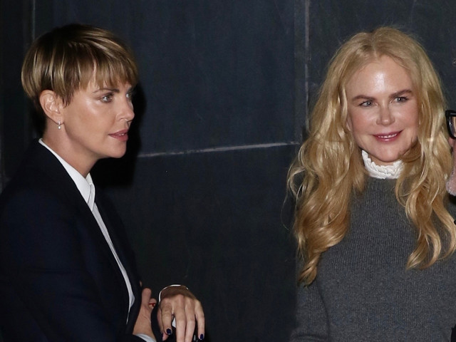 Nicole Kidman Once Didn't Recognize Charlize Theron On the 'Bombshell' Set