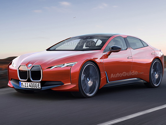 BMW i4 Will be a More Conventional Electric Car
