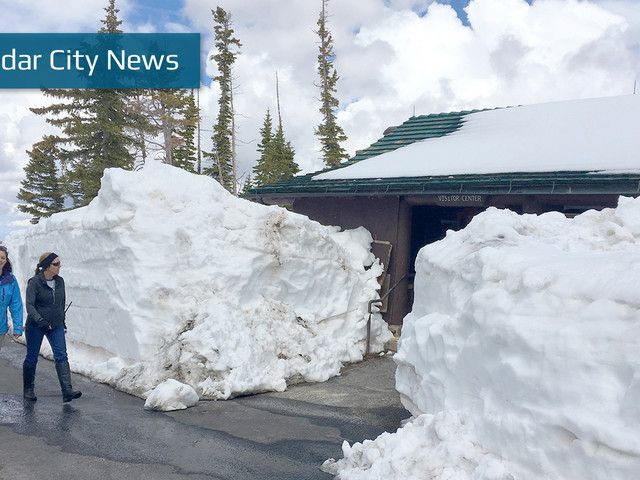 Snowy weather advised for Sunday in parts of Iron County, northern Washington County