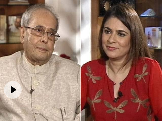 The NDTV Dialogues With Former President Pranab Mukherjee (Aired: Oct 2017)
