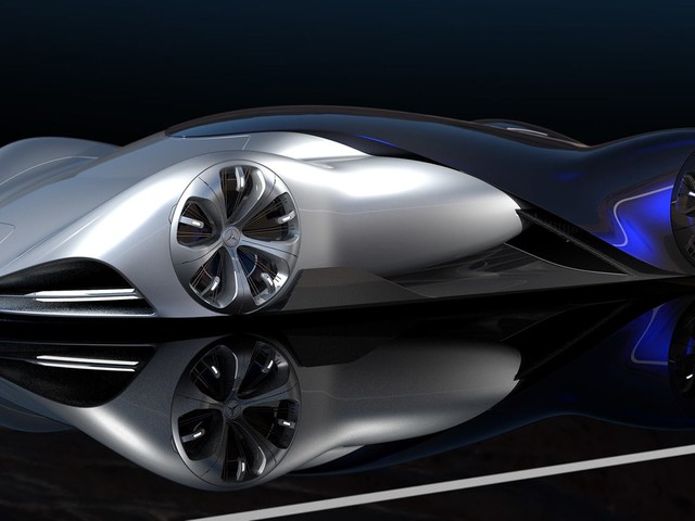 This Wild Mercedes-Benz Le Mans Concept Is Futuristic And Sleek