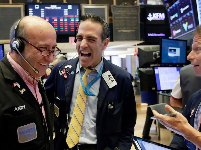 Dow breaks the 29,000 threshold for the first time