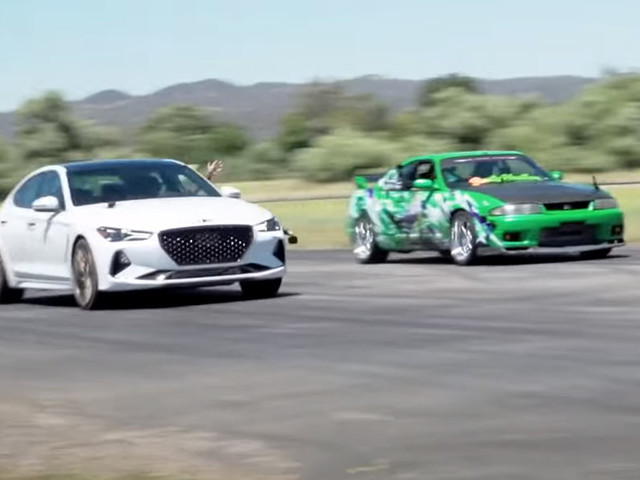 How Does A Modified 500 HP Genesis G70 Compare With A 600 HP RWD Nissan Skyline GT-R?