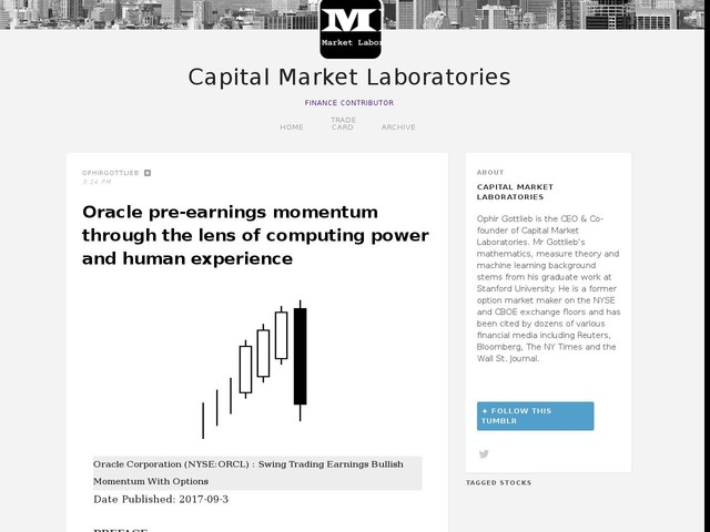 Oracle pre-earnings momentum through the lens of computing power and human experience