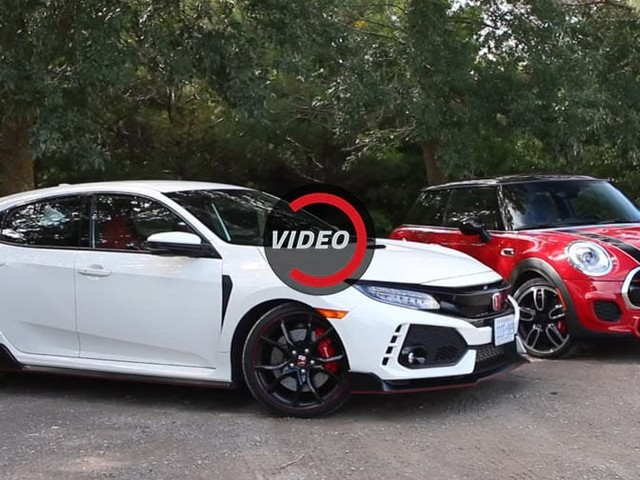 Can MINI's JCW Lure You Away From Honda's New Civic Type R?