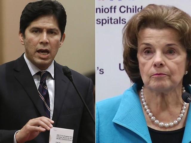 State legislative leader De Leon to challenge Feinstein for Senate seat