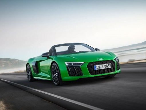 Open for Business: Audi R8 Spyder V10 Plus to Make U.S. Debut at The Quail