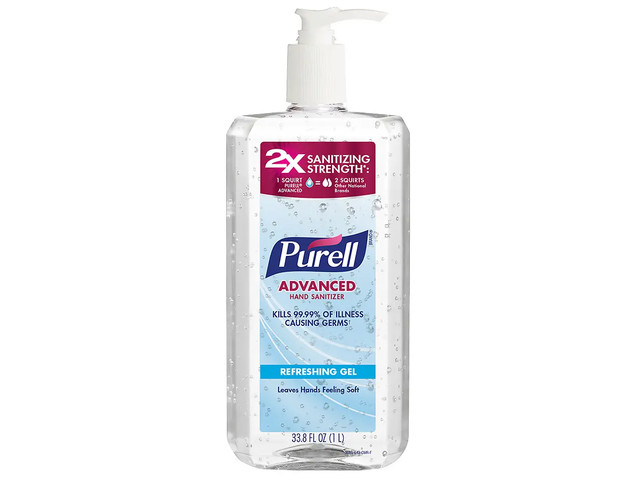 The FDA just had to scold Purell for claiming it can prevent Ebola