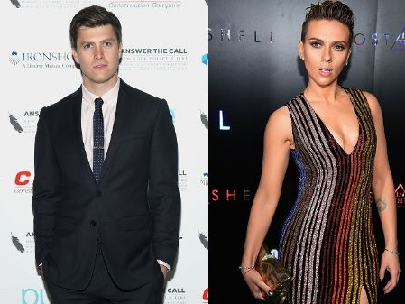 "Colin Jost ""Party Animal"" Who's ""Hiding Warped Past"" From Scarlett Johansson?"