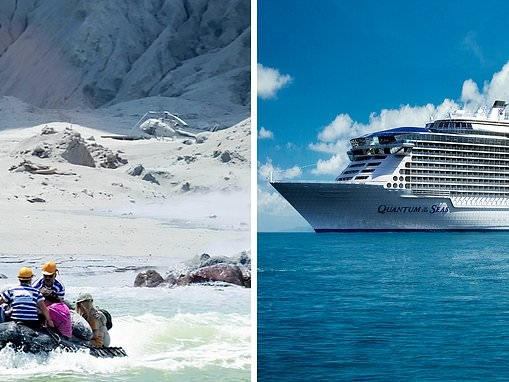 Passengers aboard Ovation of the Seas caught up in New Zealand's volcano tragedy describe horror