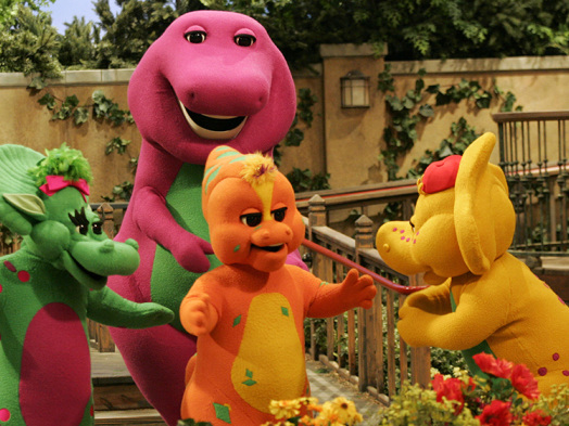 Barney the Dinosaur Movie in the Works From Mattel Films and Daniel Kaluuya