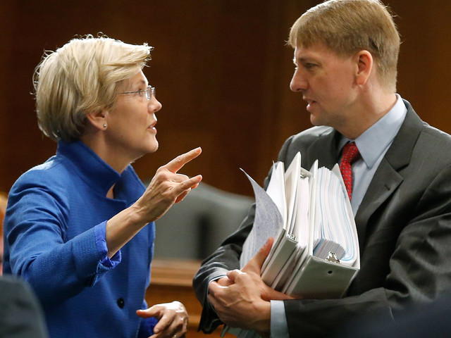Looks Like Elizabeth Warren's Consumer Watchdog Is Headed For A Court Victory
