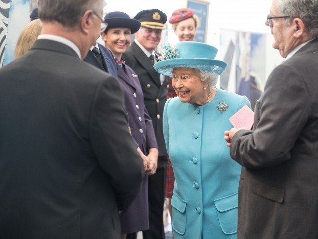 News: British Airways welcomes her majesty the Queen to celebrate centenary