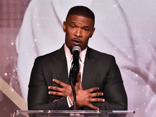 Jamie Foxx Tells AAFCA Awards Racism Is Real – Even If You're Famous
