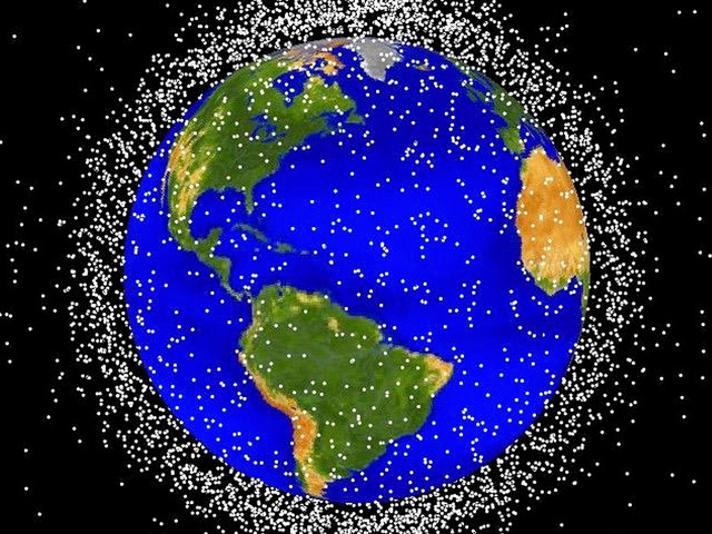 There's so much junk floating in Earth orbit that the ISS just added a debris sensor