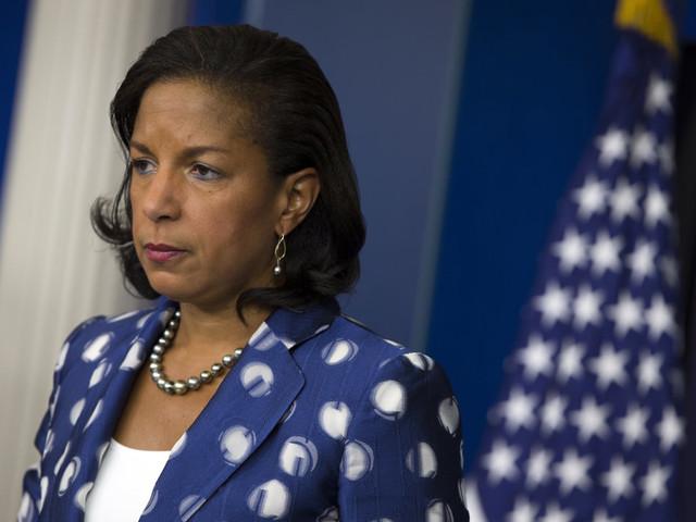 Former Obama NSA Susan Rice slams Trump over 'totally gross' hug in 2015
