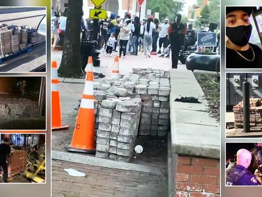 Bricks, Fires, Frozen Bottle Projectiles: The Organized Tactics Of America's Violent Rioters