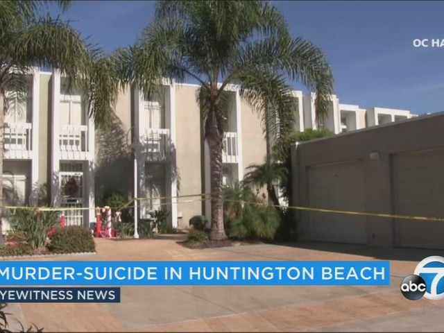 Huntington Beach murder-suicide stemmed from dispute over landscaping, neighbors say
