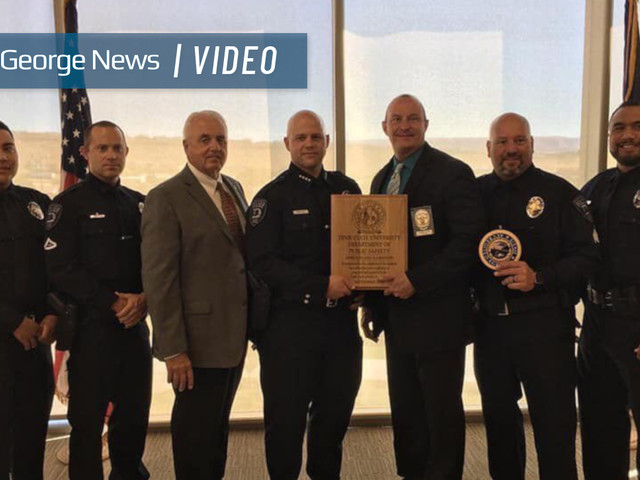 Dixie State recognized as only campus in state to receive Utah Chiefs of Police Association accreditation