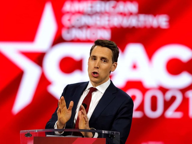 Josh Hawley, who tried to derail Biden's presidency, now champions 'the rule of the people'