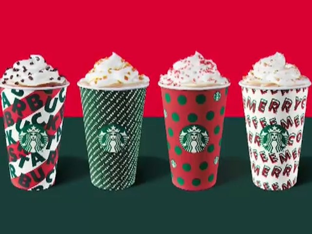 Warning about calorie count in Starbucks holiday drinks