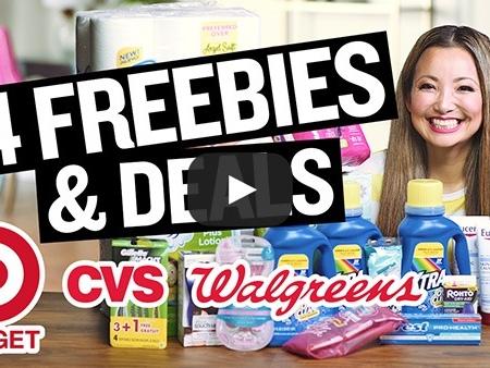 NEW VIDEO: 14 FREEBIES & Deals at Target, Walgreens & CVS This Week (3/10 – 3/16)