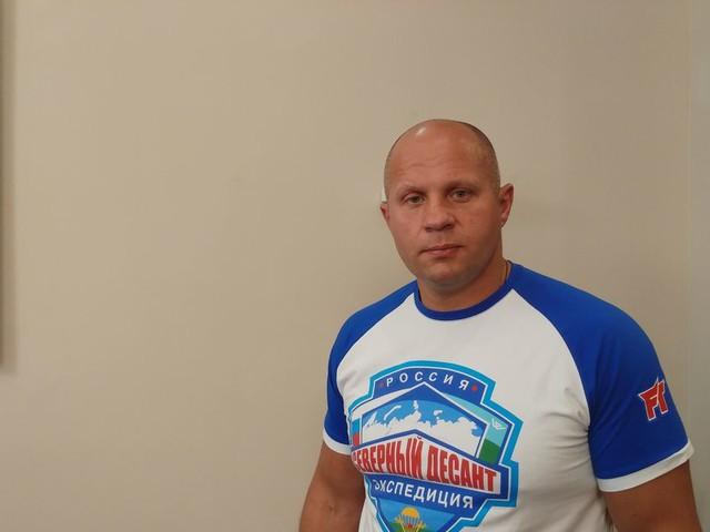 Fedor Emelianenko: It's a pleasure to do business with Bellator MMA