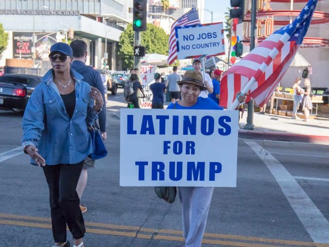 Progressives poll Latino voters on 'dog-whistle' GOP talking points, shocked to find approval for 'Trump-style rhetoric'