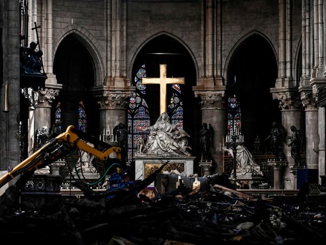 Inside the restoration efforts at Notre Dame Cathedral