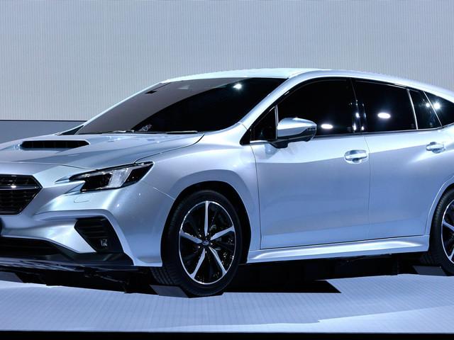 Levorg Pre-Production Prototype Shows Subaru's Next-Gen Mid-Size Wagon