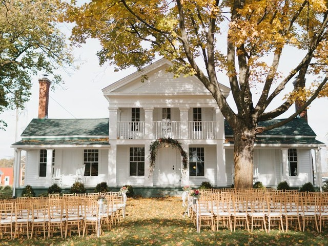 12 gorgeous fall wedding venues that will win your heart