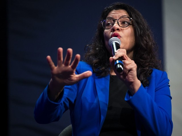 Former Dem lawmaker booted from Muslim event after asking Rashida Tlaib: 'What about your anti-Semitism?'