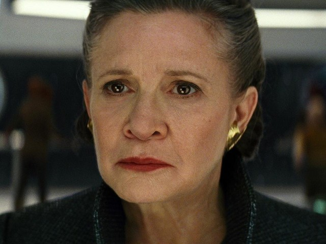 Carrie Fisher makes memorable final appearance in 'Star Wars: The Last Jedi'