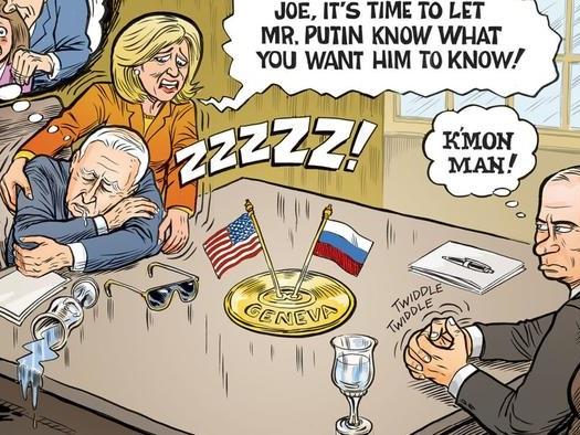 Buchanan: All Is Hype For The Biden-Putin Summit