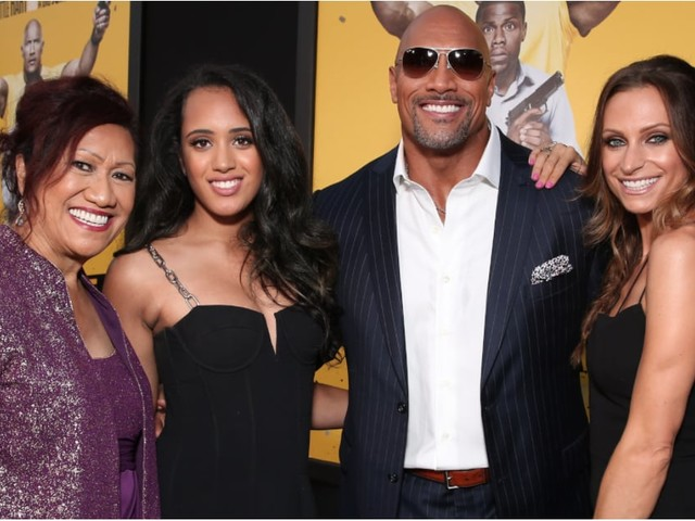 55 Pictures of Dwayne Johnson and His Beautiful, Blended Family